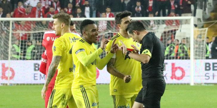 Fenerbahçe'de kırmızı kart şoku! Rodrigues ve Ozan Tufan...