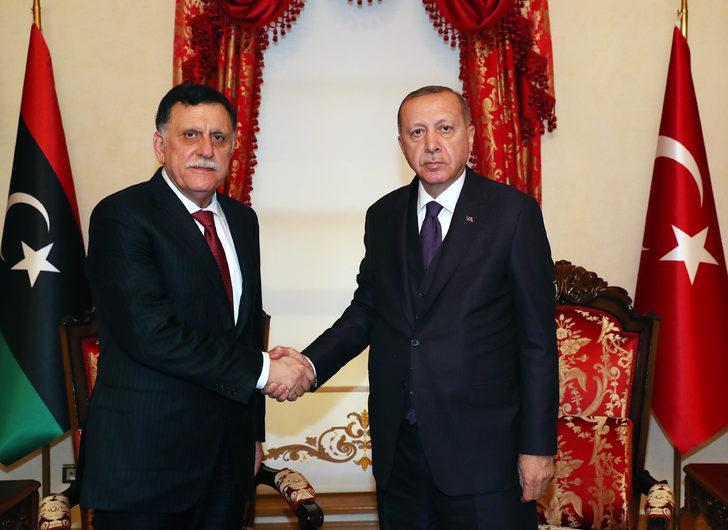 Son dakika: Dolmabahçe'de Libya ile kritik görüşme