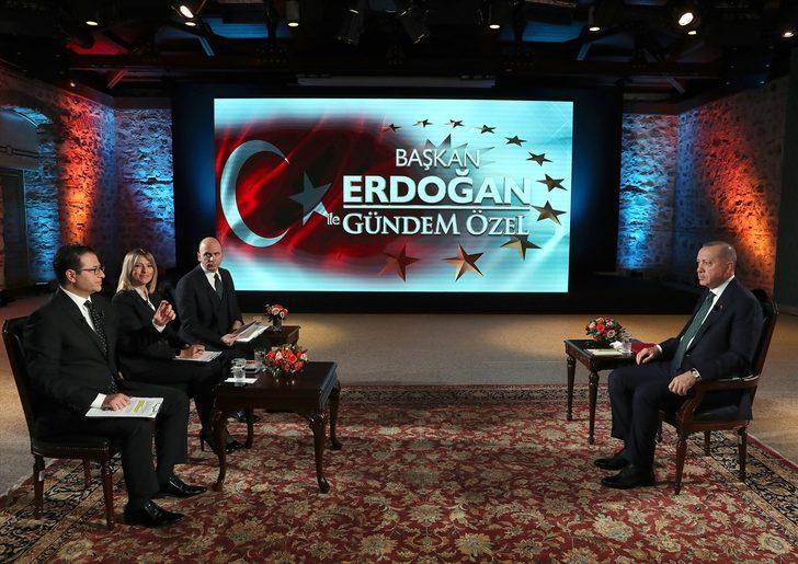Son dakika: Cumhurbaşkanı Erdoğan'dan canlı yayında önemli açıklamalar!