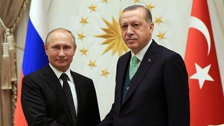 Son dakika: Cumhurbaşkanı Erdoğan ile Putin arasında kritik görüşme