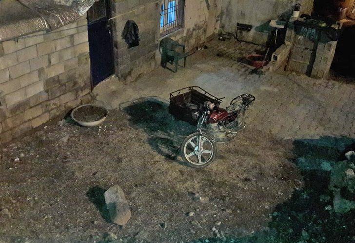 Gaziantep'te motosiklet devrildi: 1 yaralı