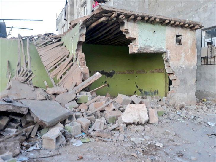 Şanlıurfa'da metruk ev çöktü: 1 yaralı