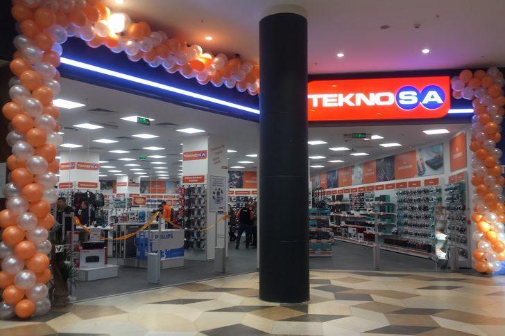 Teknosa'dan Bolu'ya yeni mağaza