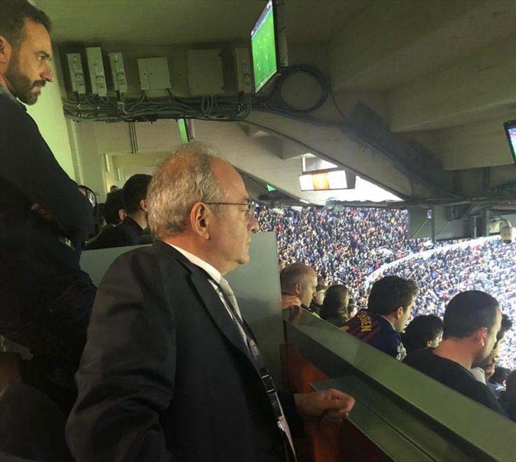 Gençlerbirliği Kulübü Başkanı Murat Cavcav'dan Barcelona'ya ziyaret