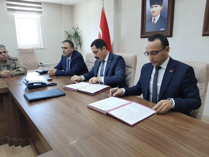 Ardahan'da Kamu Yararına Çalıştırılma Protokolü imzalandı