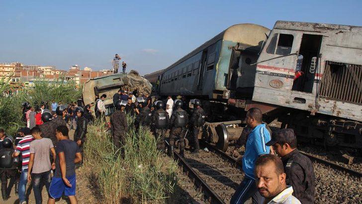 Mısır'da tren kazası! Ölü ve yaralılar var