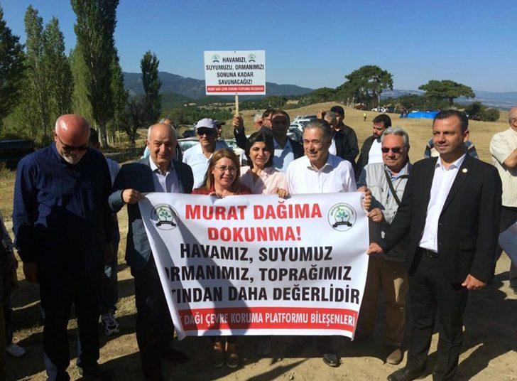 Murat Dağı davasında mahkeme 'ÇED Olumlu Kararı'nı iptal etti