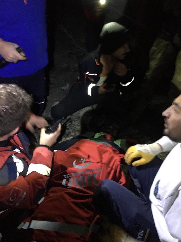 Konya'da dağlık alanda kaybolan bisikletli, yaralı halde bulundu