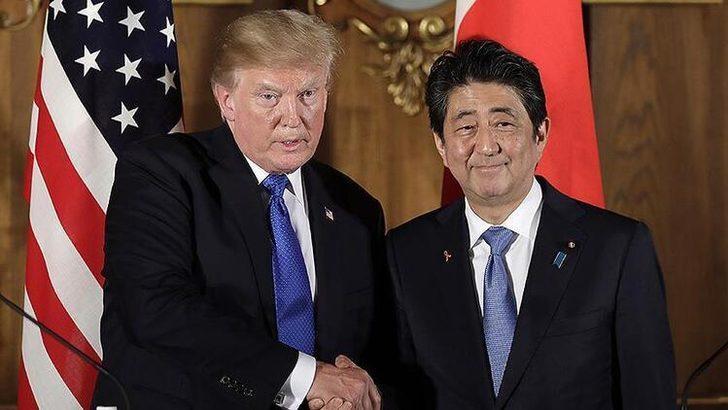 Trump ve Abe arasında kritik görüşme!