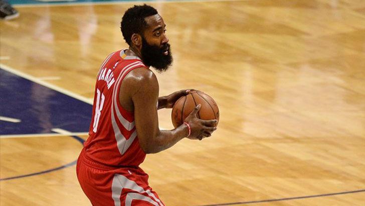 NBA'de Rockets, Suns'ı Harden'ın 47 sayısıyla yıktı