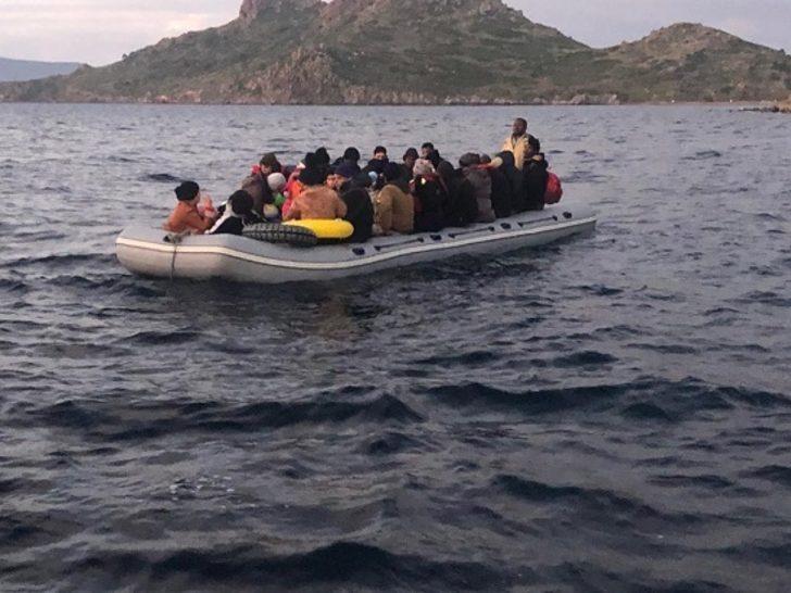 Bodrum açıklarında 31 düzensiz göçmen yakalandı