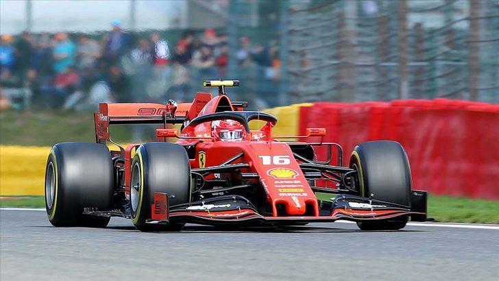 Ferrari, Leclerc'in sözleşmesini 2024'e kadar uzattı