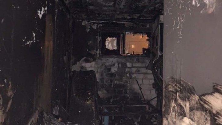 Kiev'de Türk öğrencilerin de yaşadığı yurtta yangın çıktı