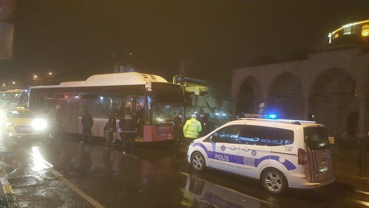 Beyoğlu'ndaki trafik kazası ulaşımı aksattı