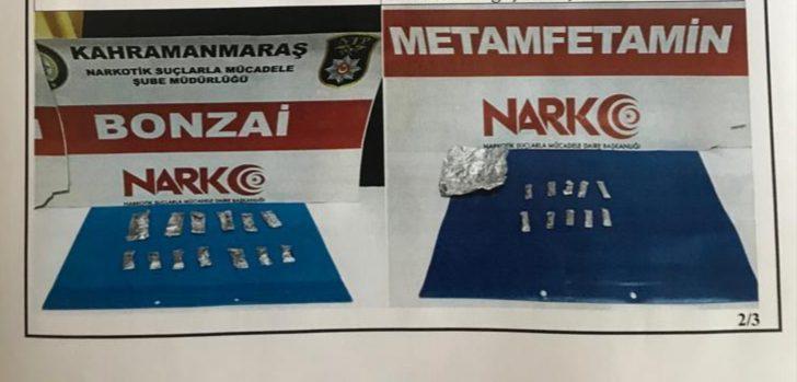 Uyuşturucu satarken yakalanan 5 kişi tutuklandı
