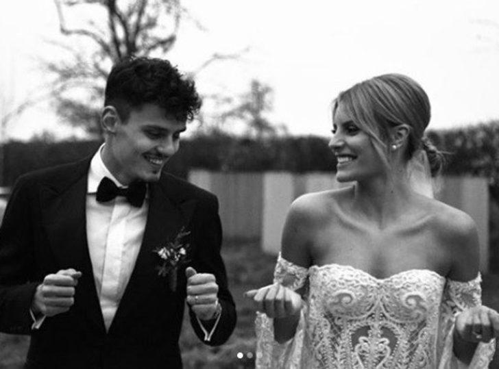 Enes Ünal, Lisa Smellers ile evlendi