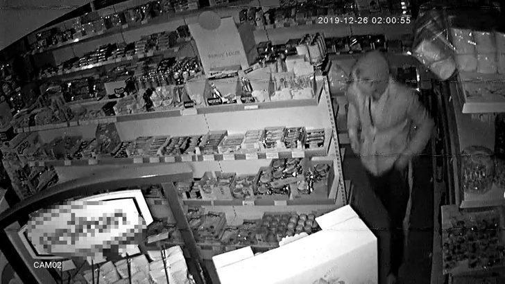 Kameradan belirlenen hırsızlık şüphelileri yakalandı