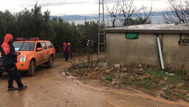 Bursa'da ekiplerin arazide aradığı çiftçi evine döndü