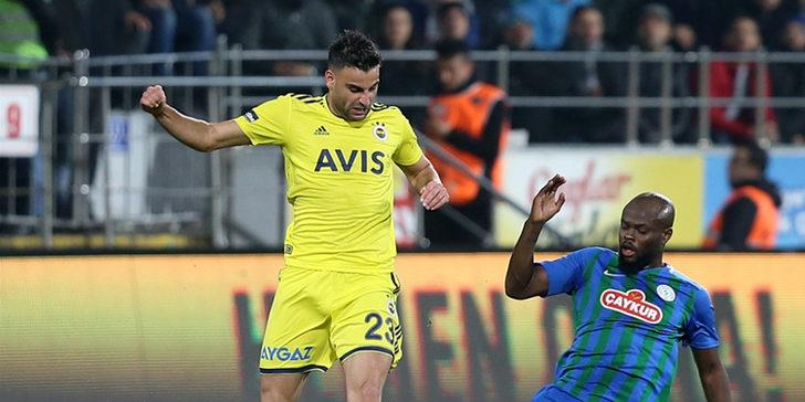 Fenerbahçeli futbolculardan Ç. Rizespor maçının ardından açıklamalar