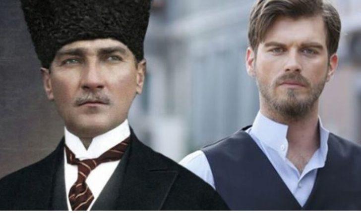TRT'nin mini dizisinde Atatürk rolü Kıvanç Tatlıtuğ'a teklif edildi! İşte Kıvanç Tatlıtuğ'nun kararı!