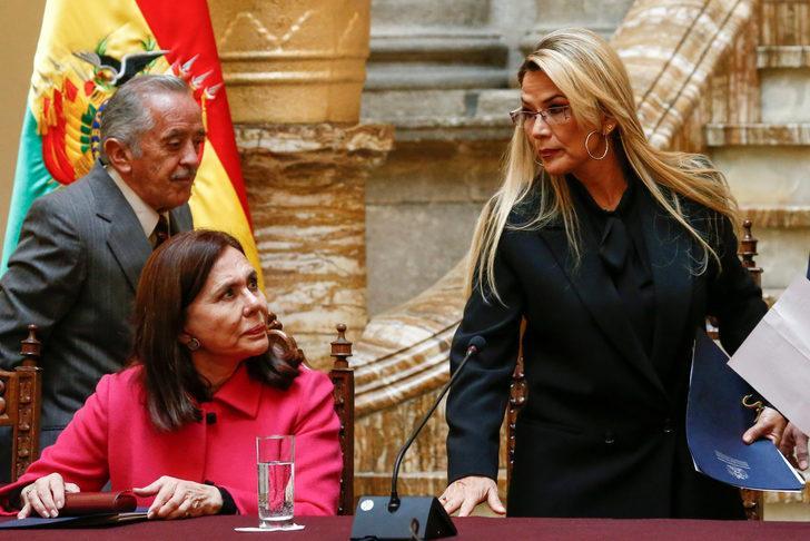 """Bolivya'daki Meksikalı ve İspanyol diplomatlar """"istenmeyen kişi"""""""