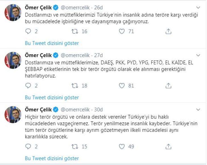 AK Parti'li Çelik: Terör yenilmezse insanlık kaybeder