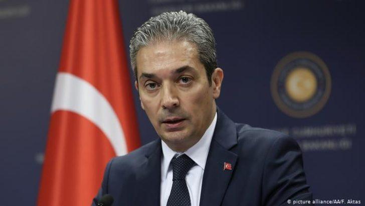 Türkiye'den EastMed anlaşmasına tepki
