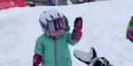 Daha 1 yaşında ama...Sosyal medyayı sallayan video!