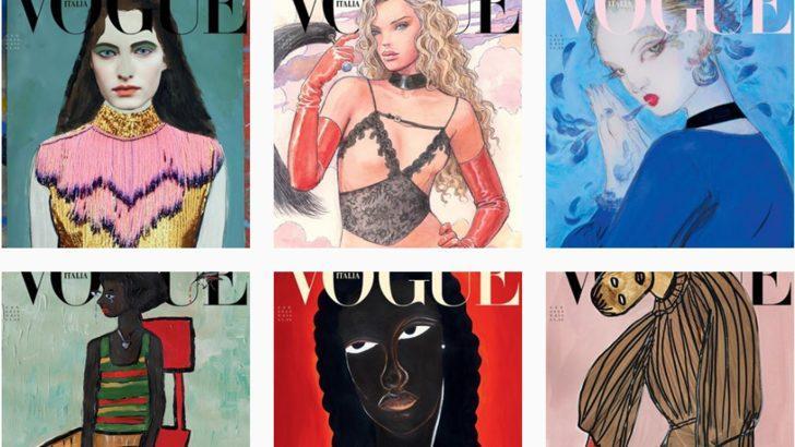 Moda dergisi Vogue çevre mesajı vermek için fotoğraf yerine çizimlerle çıkacak