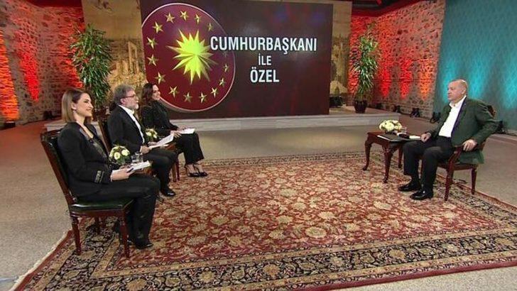 Cumhurbaşkanı Erdoğan, CNN Türk-Kanal D ile ilgili görsel sonucu