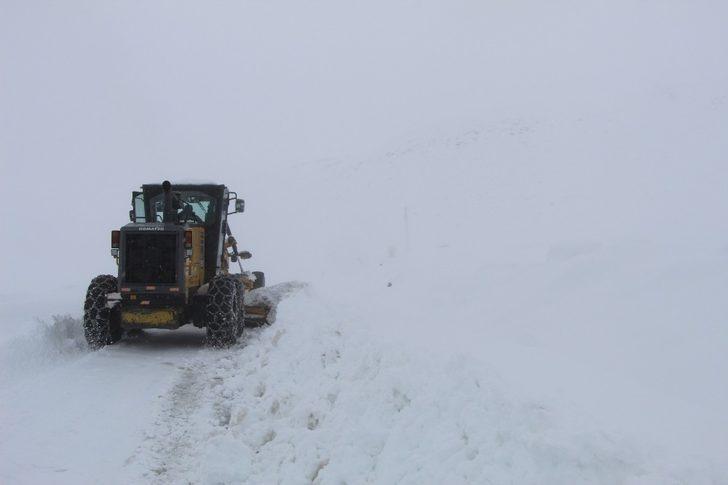 Bingöl'de karla kapanan 170 köy yolu açıldı, 10'unda çalışma sürüyor