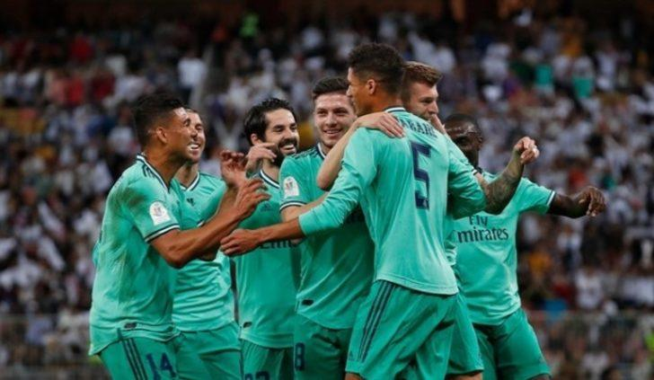 Valencia 1-3 Real Madrid (Maç sonucu) Valencia'yı deviren Real Madrid finalde!
