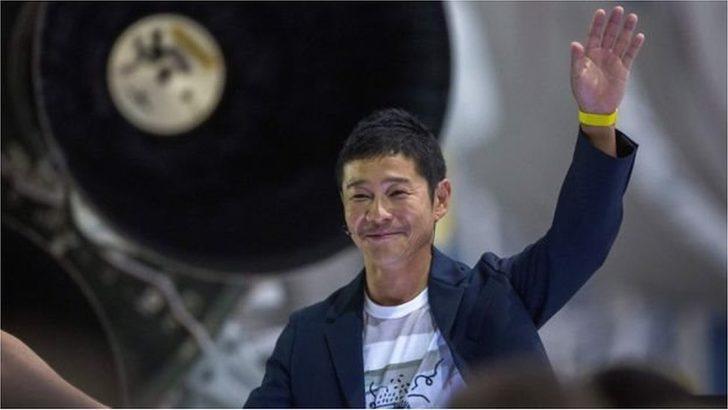 Japon milyarder Maezawa, birlikte Ay yolculuğuna çıkacağı 'hayat arkadaşını' arıyor