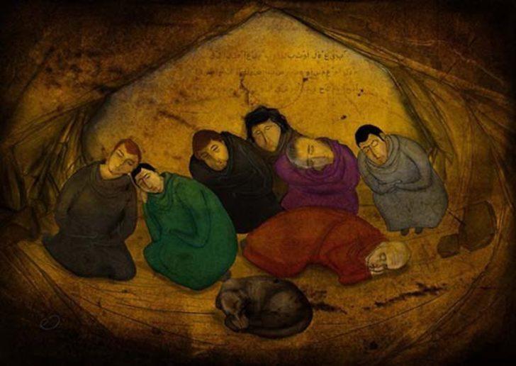 300 Yıllık Ölümsüz Uykusu: Ashab-ı Kehf (Yedi Uyurlar)
