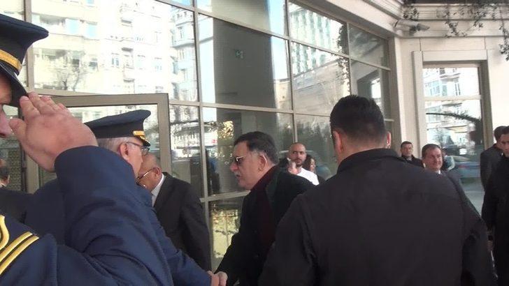 (Özel) Libya Başbakanı Es-Sarrac Rusya dönüşü İstanbul'da mola verdi