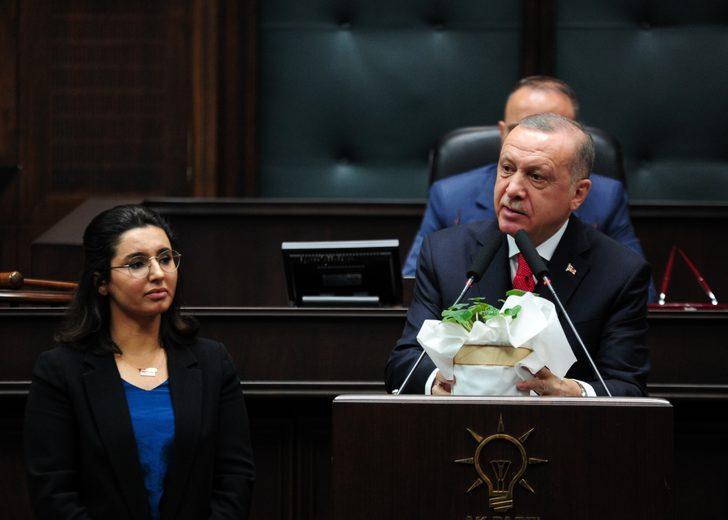 Erdoğan kürsüyü Gülay'a bırakmıştı! Aralarında geçen diyaloğu anlattı