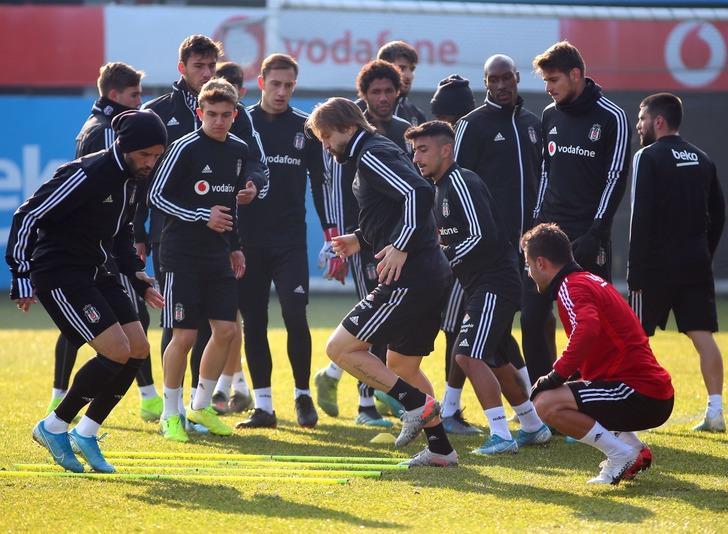 Beşiktaş'ın kupa maçı kadrosu açıklandı