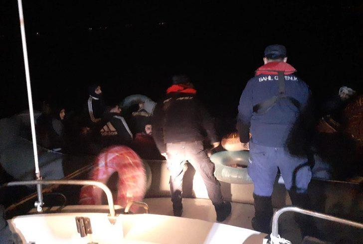 Bodrum'da 36 düzensiz göçmen yakalandı!