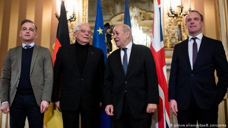 Üç Avrupa ülkesi ihtilaf çözüm sürecini devreye soktu