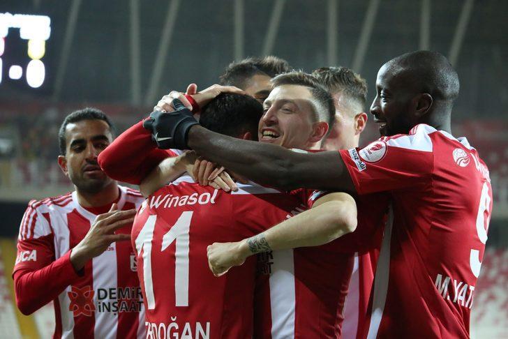 ÖZET | Sivasspor - Yeni Malatyaspor 4-0 maç sonucu