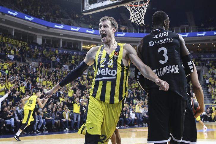 ÖZET | Fenerbahçe Beko 86 - 64 ASVEL maç sonucu