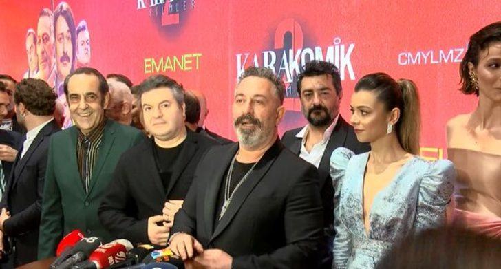 Cem Yılmaz'ın yeni filmi Karakomik Filmler 2'ye görkemli gala