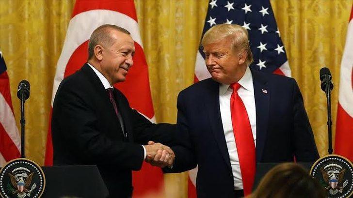 Son dakika: Cumhurbaşkanı Erdoğan, ABD Başkanı Trump ile görüştü