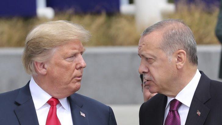 Erdoğan'dan Trump'a ''Eylemlerde Terör Unsuru'' Uyarısı