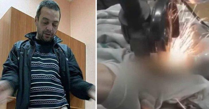 Uyurken eşinin penisine cıvata somunu geçirdiği adam hastanelik oldu!