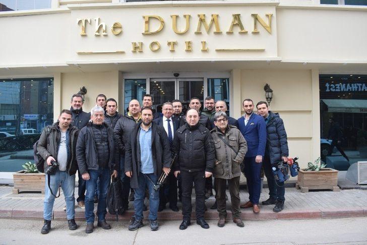 TSYD Mustafa Özer'i konuk etti