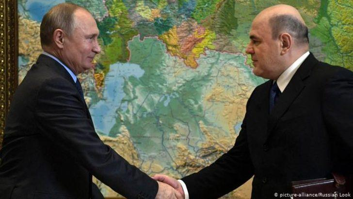 Rusya'nın yeni başbakanı Muşistin oldu