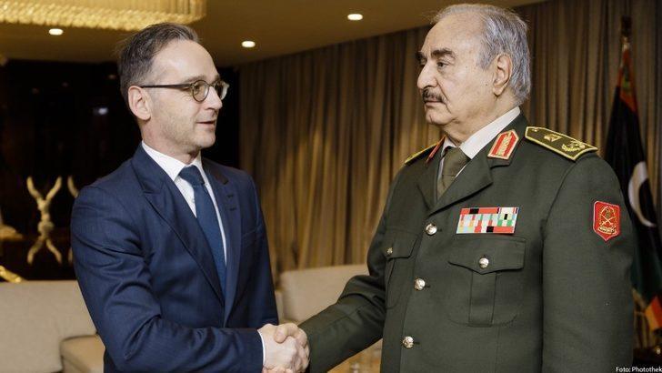 """Almanya Dışişleri Bakanı Maas: """"Hafter ateşkese hazır olduğunu söyledi"""""""