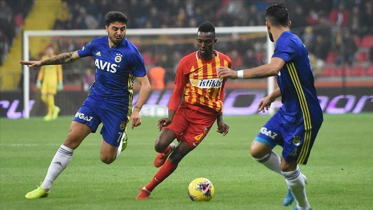 Kayserisporlu Bernard Mensah'tan transfer açıklaması!