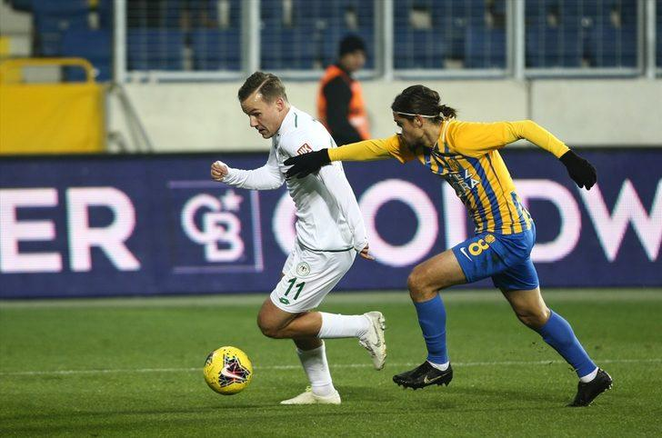 MAÇ SONUCU | Ankaragücü-Konyaspor: 0-1 (Süper Lig Puan Durumu)